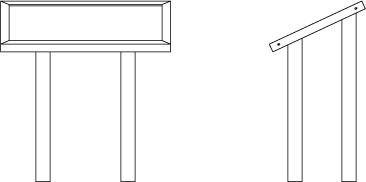 Filaire de la table d'orientation TOR.1