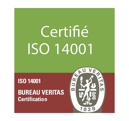 Plas Eco est certifié ISO 14001