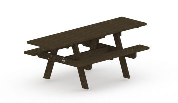 Table de pique-nique adaptées pour les personnes à mobilité réduire