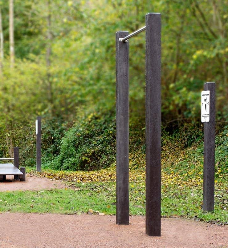 Barre de traction de la gamme Training - Mobilier urbain Plas Eco