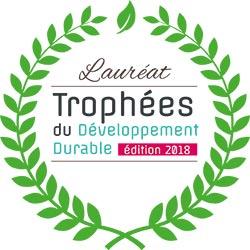 Plas Eco et sa gamme Ubicuity, lauréat des Trophées du Développement Durable 2018
