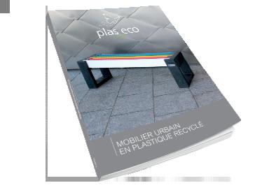 Visuel du catalogue Plas Eco 2019 - Mobilier urbain en plastique recyclé