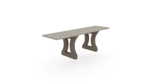 Table de pique-nique 100% plastique recyclée et adaptée pour les personnes à mobilité réduite