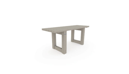 Table OR-TPN-11 pour aménager durablement vos aires de pique-nique avec du mobilier urbain 100% plastique recyclé