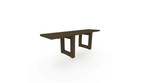 Aménager vos aires de pique-nique avec cette table adaptée PMR et composée à 100% de plastique recyclé