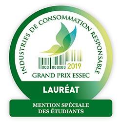 Plas Eco, lauréat du Grand prix de l'ESSEC, Industries de consommation responsable, mention spéciales des étudiants