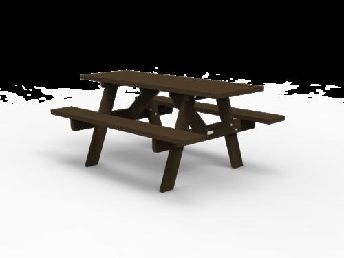 Table de pique-nique forestière - OR-TPN-01